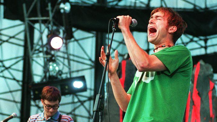 Oasis gegen Blur - der große Hype