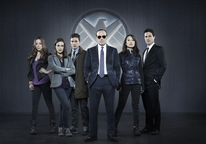 """TV-Serie """"Agents of S.H.I.E.L.D."""": Verbindungsoffizier Coulson (Clark Gregg, M.)"""