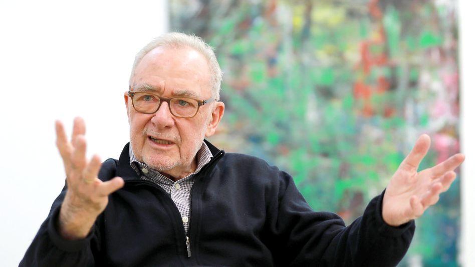 Gerhard Richter stiftete zwei signierte Drucke für Kölner Obdachlose