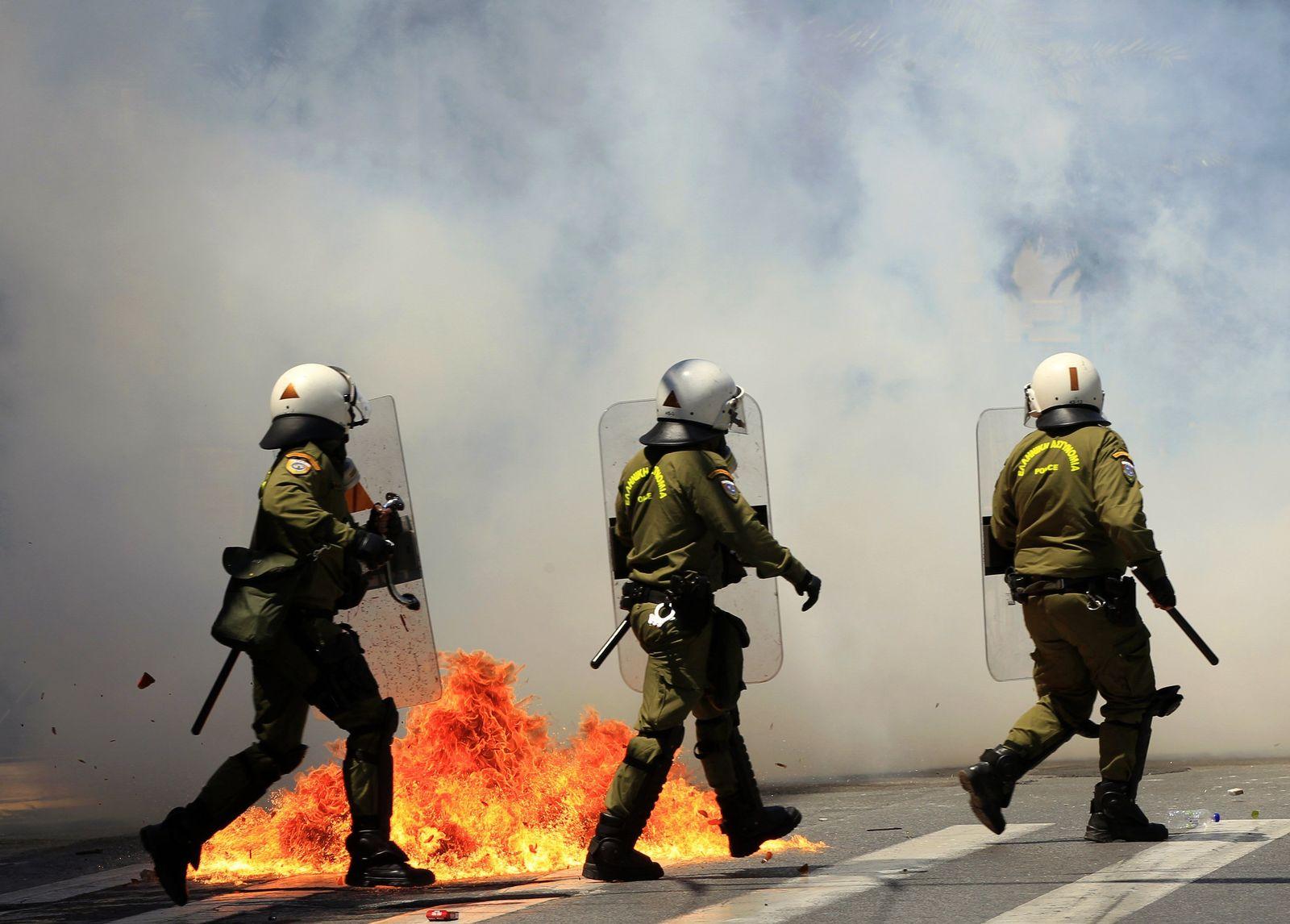 Polizisten Griechenland