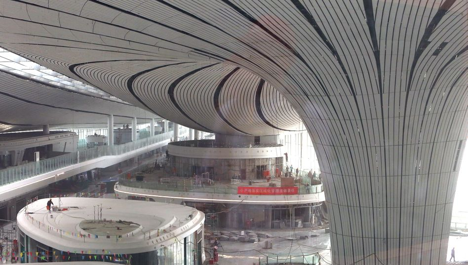 Flughafen von Daxing: Schwaches Wachstum erzwingt mehr Offenheit