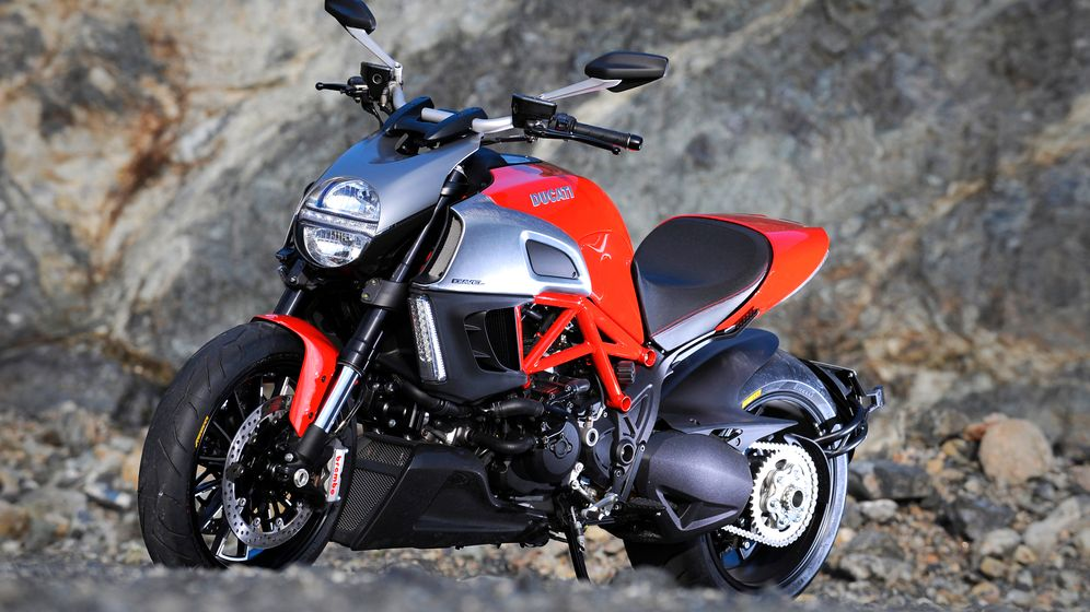 Ducati Diavel: Futuristische Schönheit