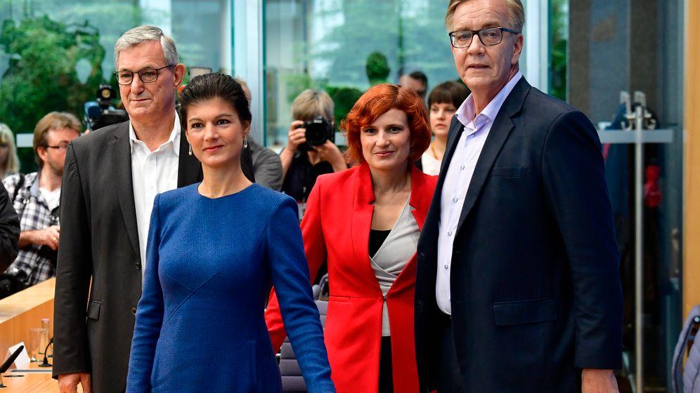 Kipping, Wagenknecht und Co.: Linke Machtkämpfe