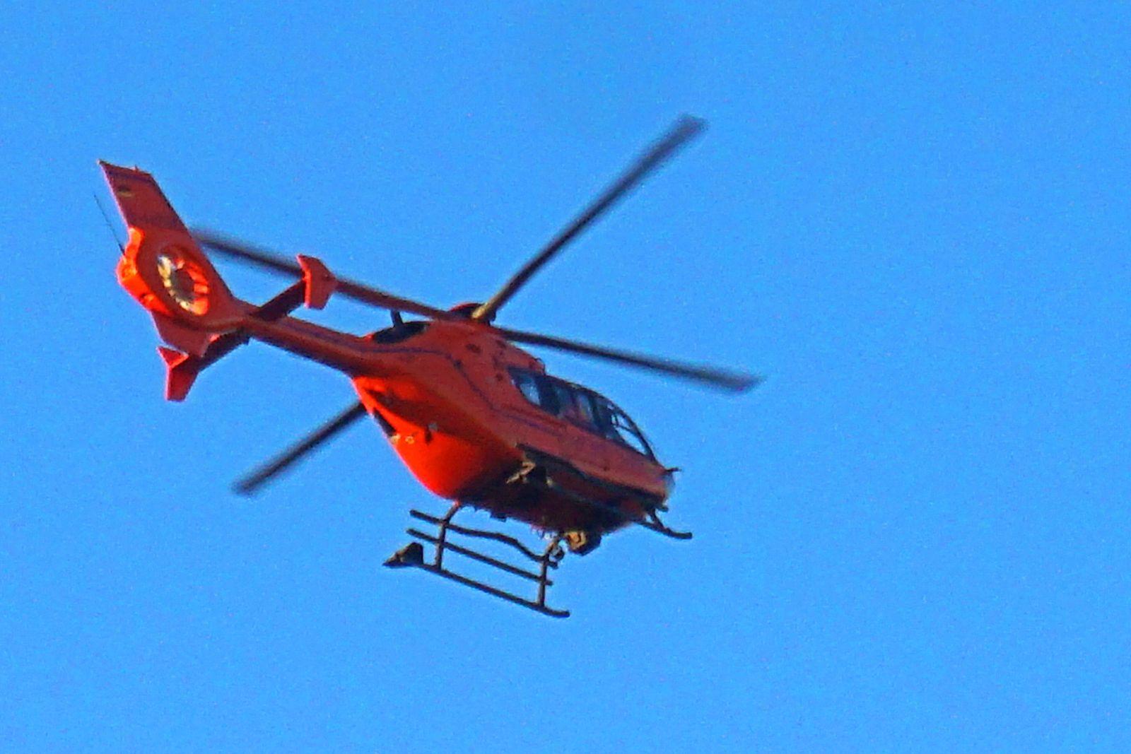 Rettungsdienst in der Luft INTERPOLIERT: Der Rettungshubschrauber Christoph 9 aus Duisburg vom Typ Eurocopter EC 135 T2i