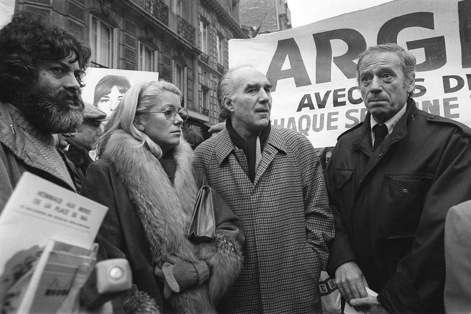 FRANCE-ARGENTINA-PROTEST