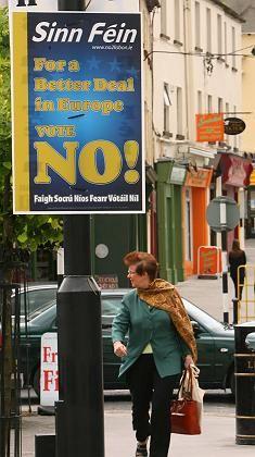 """Aufruf zum Nein in Dublin: """"Es steht auf Messers Schneide"""""""