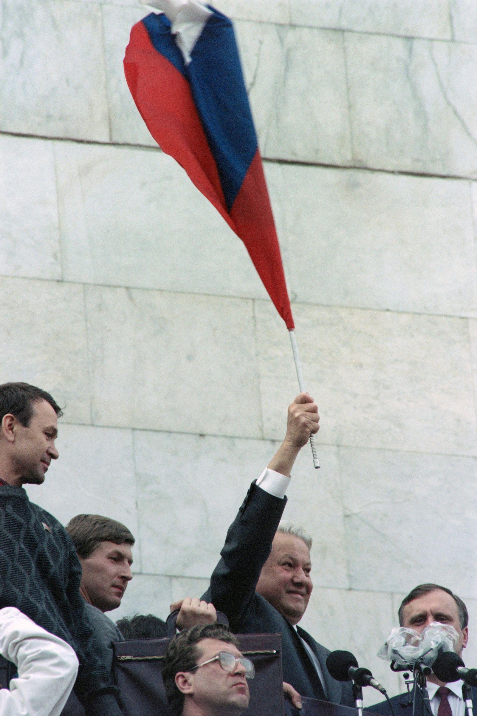 RUSSIA-POLITICS-BORIS YELTSIN