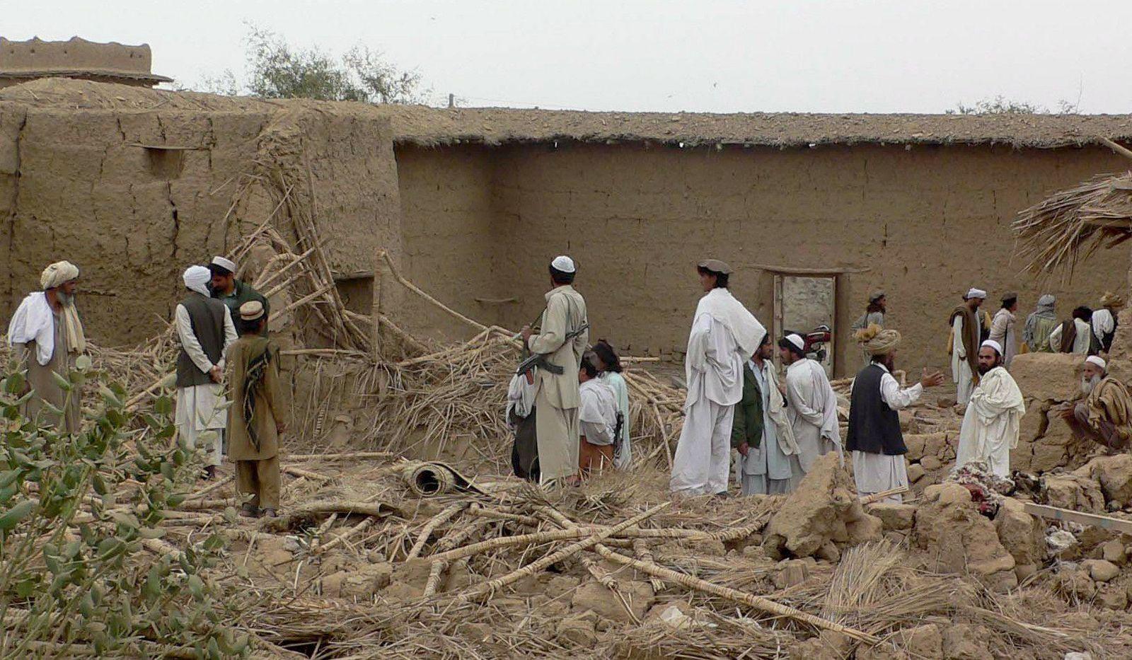 NUR FÜR SPAM Tote bei mutmaßlichem Drohnenangriff der USA in Pakistan