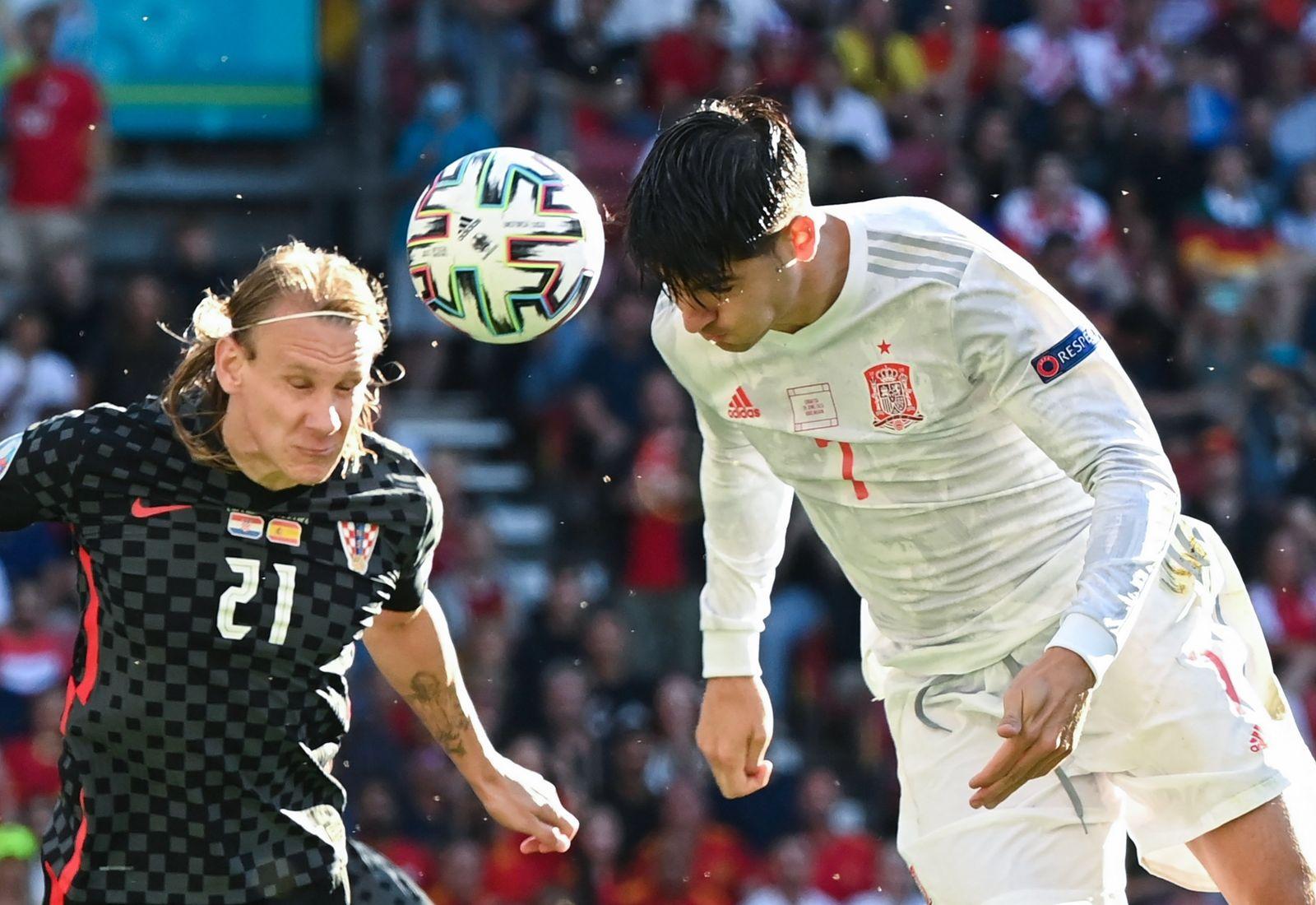 Fußball EM - Kroatien - Spanien