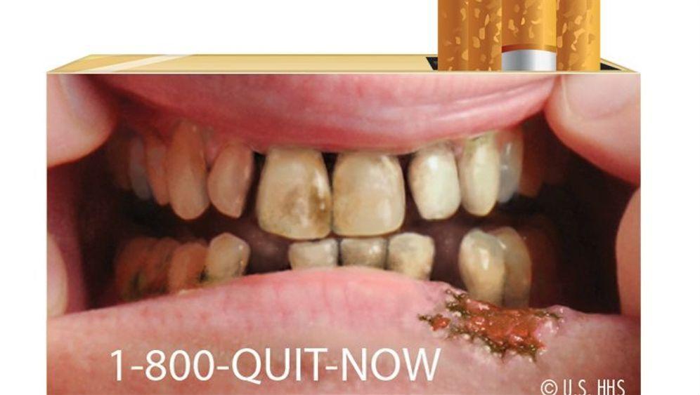 Gegen das Rauchen: Krasse Kampagnen