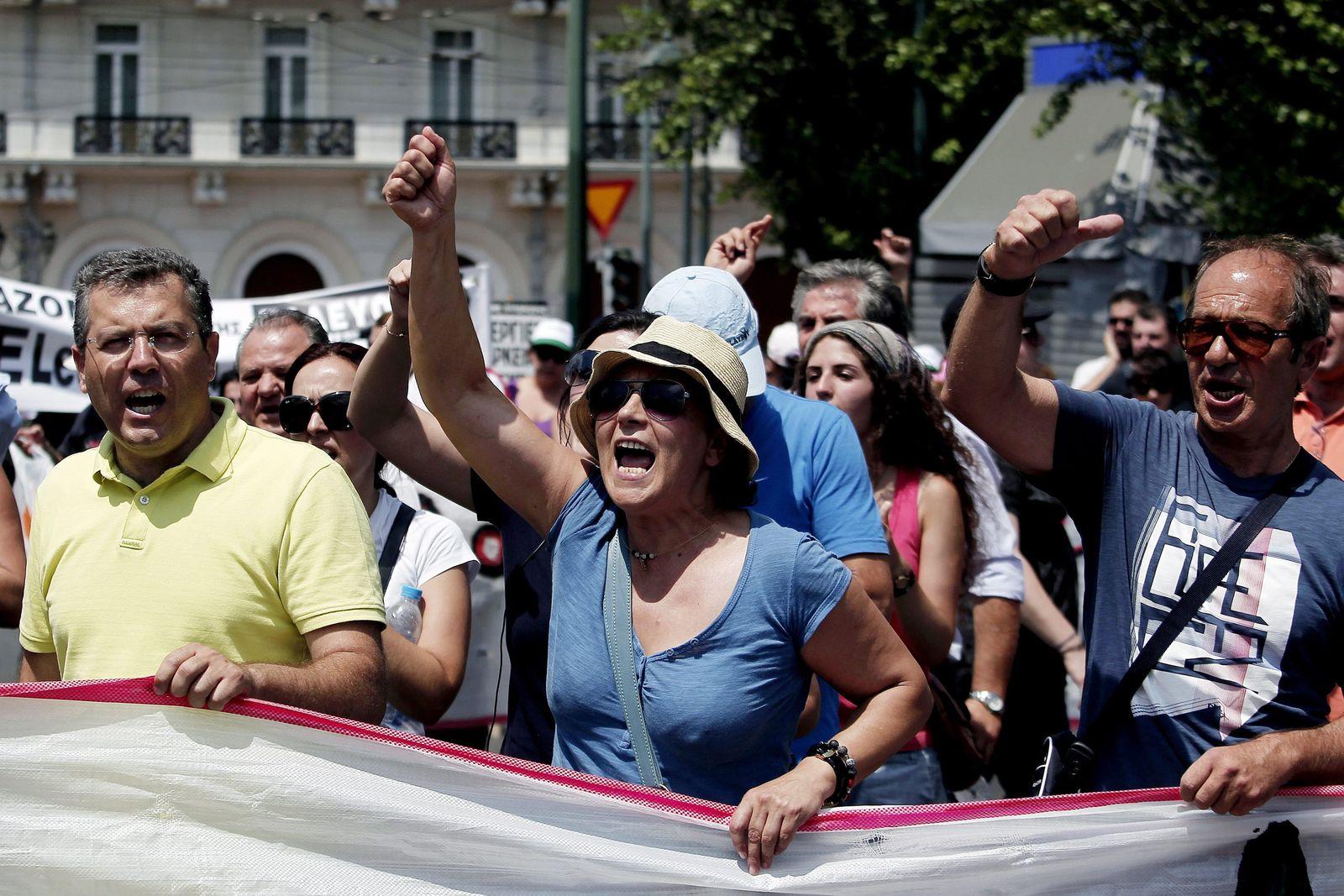 Griechenland / Proteste
