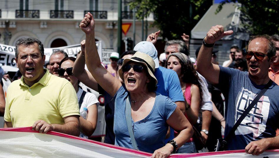 Proteste in Athen: Den Griechen steht ein harter Jahreswechsel bevor