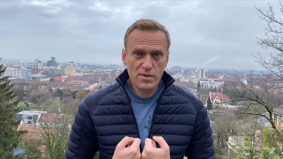 Alexej Nawalny (Aufnahme vom Januar 2021)