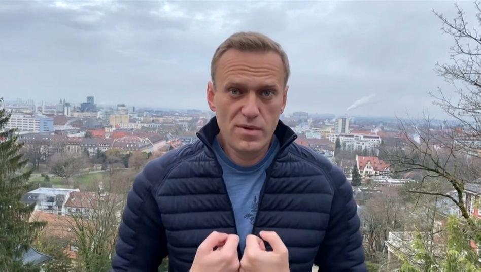 Oppositionspolitiker Nawalny (auf seinem Instagram-Account am Mittwoch): »Alexej, bitte komm auf gar keinen Fall nach Hause zurück!«