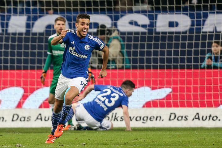 Schalker Di Santo: Erstes Tor am 15. Spieltag