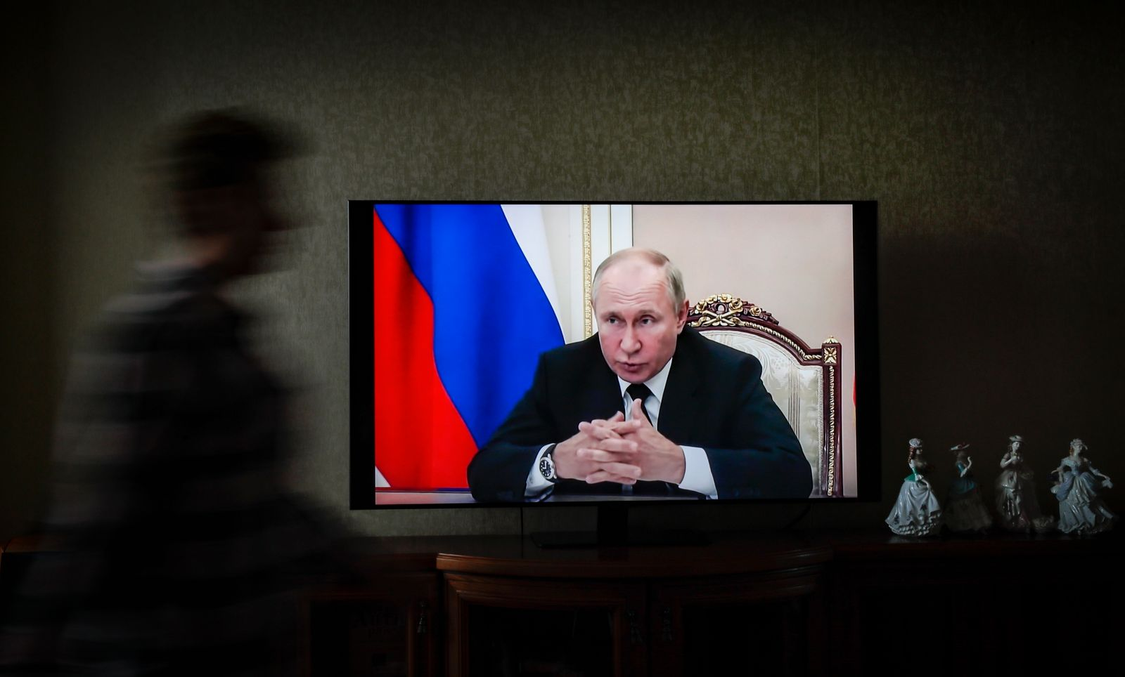 Vladimir Putin is in self-isolation