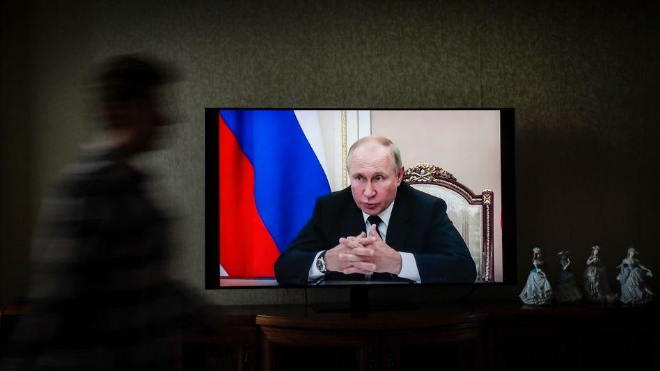 Wladimir Putin möchte, dass Russlands Bürger patriotisch wählen