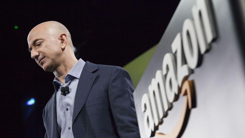 Amazon-Chef Bezos: Teure Strategie verärgert Anleger