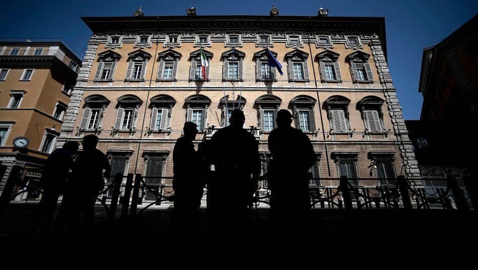 Italienischer Senat muss über zeitliches Vorgehen der Regierungskrise abstimmen