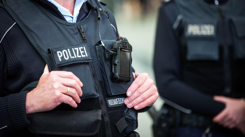 Bundespolizisten im Einsatz (Symbolbild)