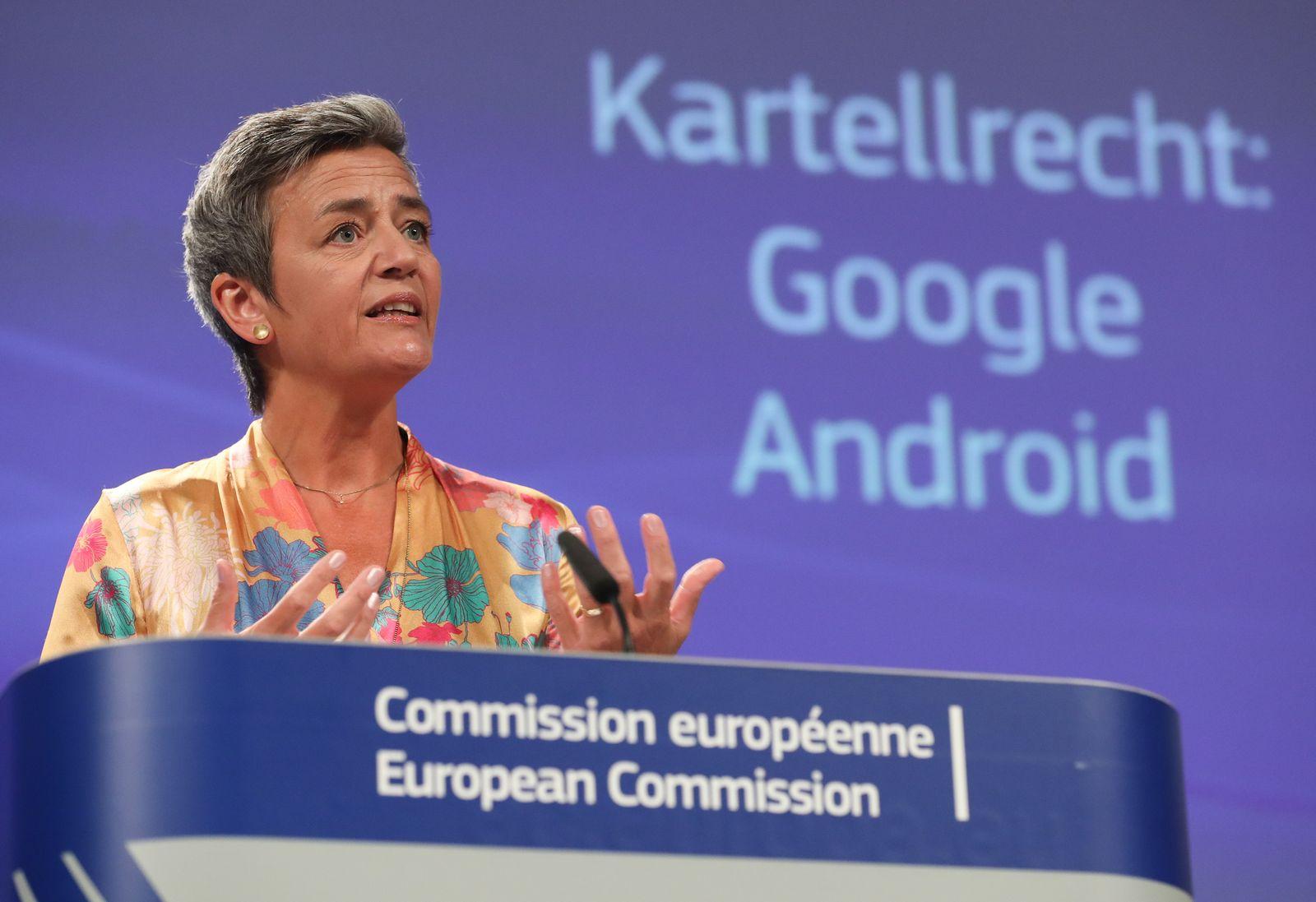 Vestager / Google