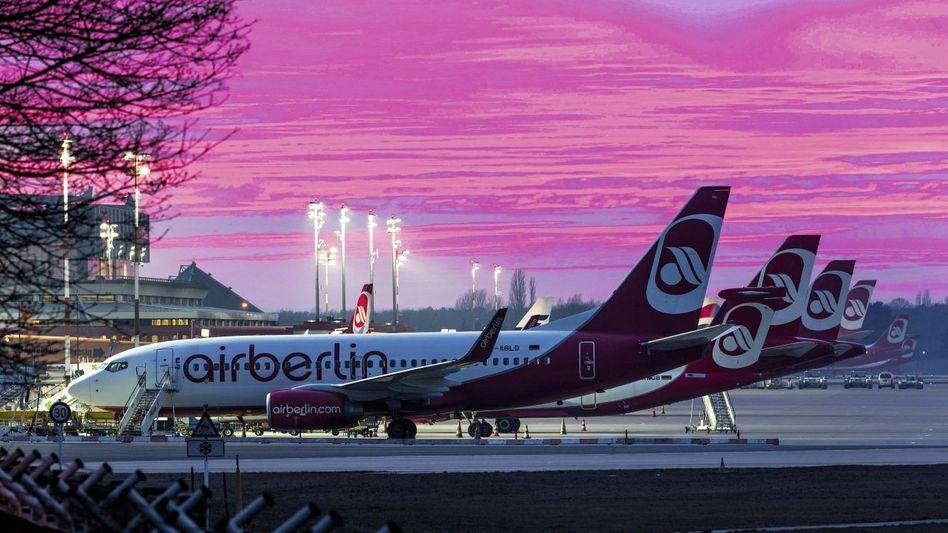 Air-Berlin-Flugzeuge: »Geopolitisch bedingte Einbrüche«