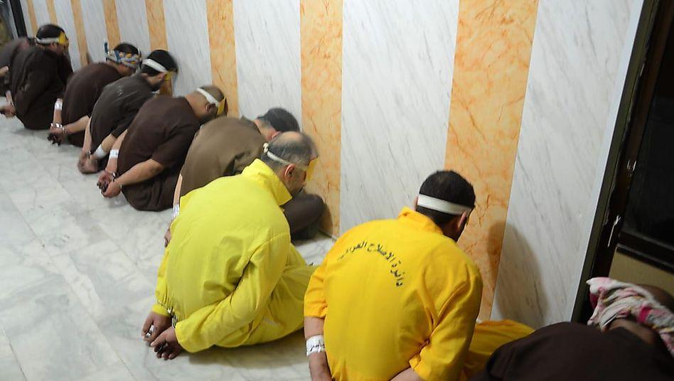 Verurteilte Gefangene