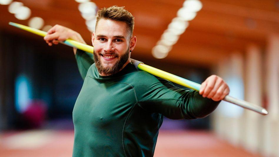 Speerwerfer Johannes Vetter: »Abgerechnet wird bei den Olympischen Spielen, und da werde ich performen«