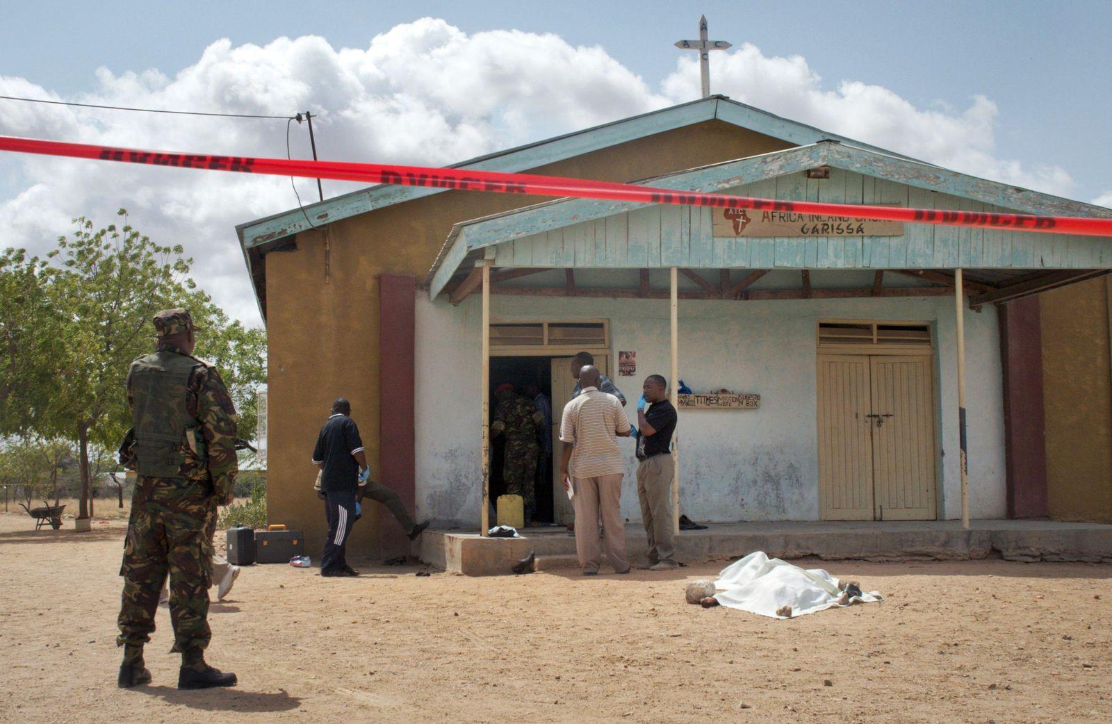 Kenia/ Kirche/ Anschlag