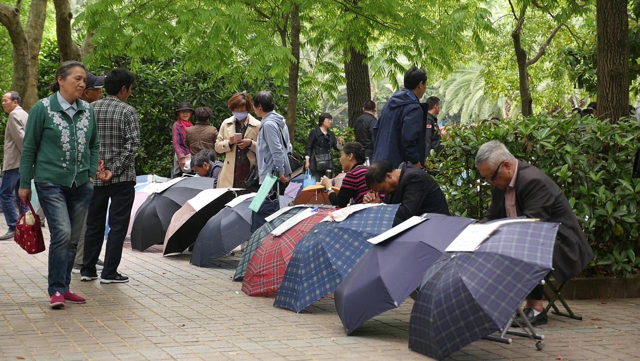 """Hochzeitsmarkt in Shanghai: """"Es geht nicht um Liebe, sondern um Geld"""""""