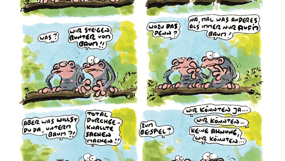 """König-Comic """"Stehaufmännchen"""": Kontrovers und amüsant"""