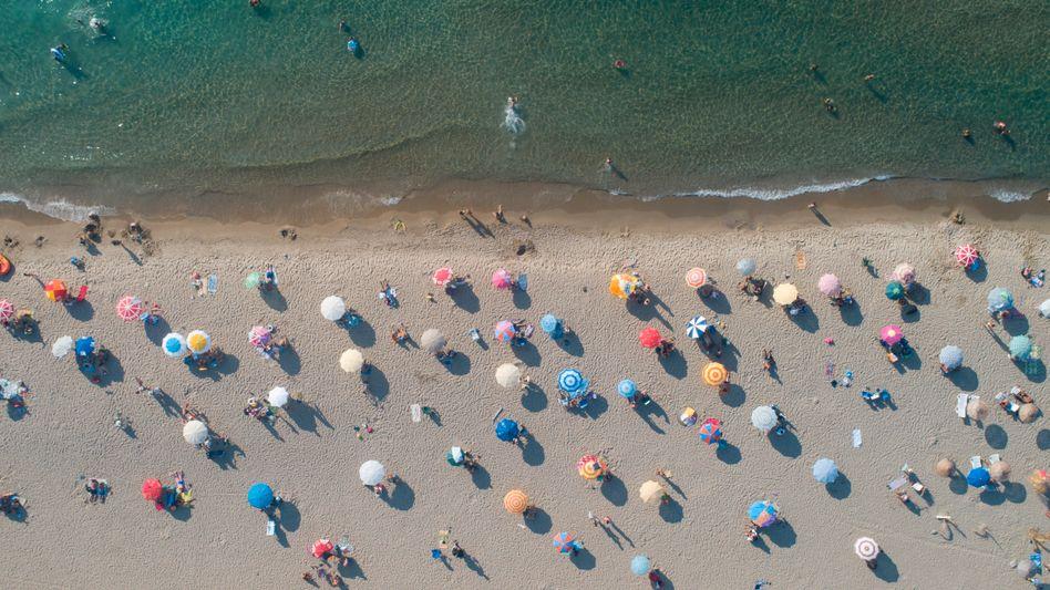 Strand von Güzelçamlı in der Türkei (Archivbild)