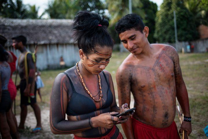 Die Tembé zählen zu den Techpionieren im Amazonasgebiet