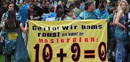 Studenten-Demo: Stuttgart, hier kommt der Masterplan