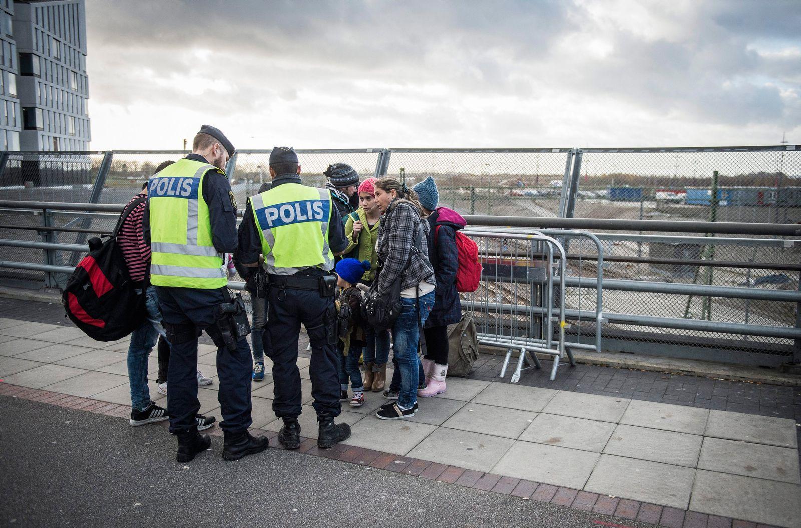 schweden polizei flüchtlinge