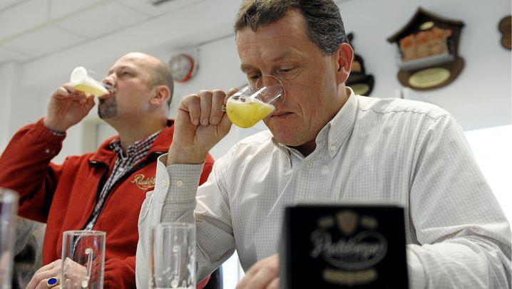 Bierverkoster: Der Arbeitstag beginnt mit einem Pils