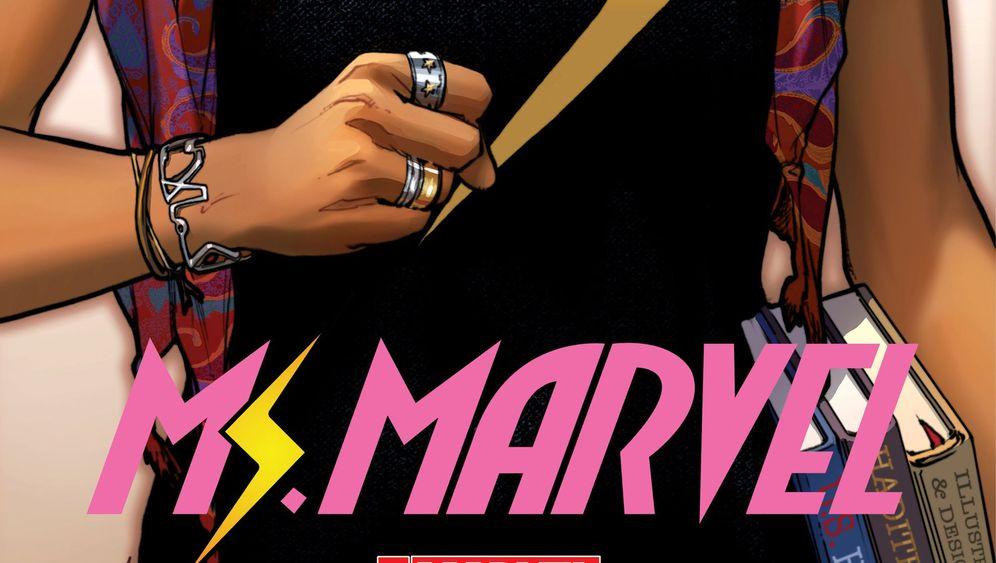 Neue Comic-Heldin: Kamala, die neue Miss Marvel