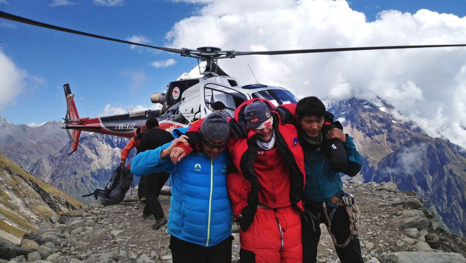 "Bergunglück im Himalaja: ""Plötzlich war alles dunkel"""