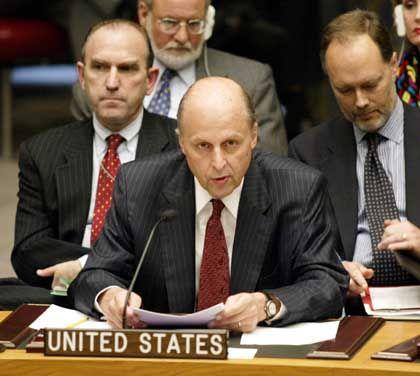 US-Botschafter John Negroponte: Zukunft der Inspektionen ist offen