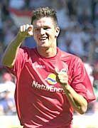 Einer der torgefährlichsten Mittelfeldspieler der Bundesliga: Zlatan Bajramovic