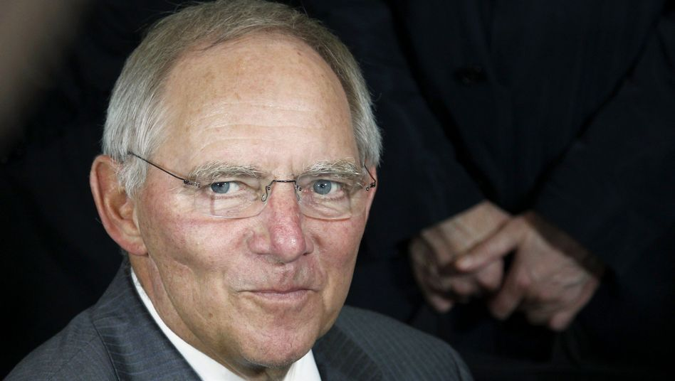 """Finanzminister Schäuble: """"Ursachen glaubhaft bekämpfen"""""""