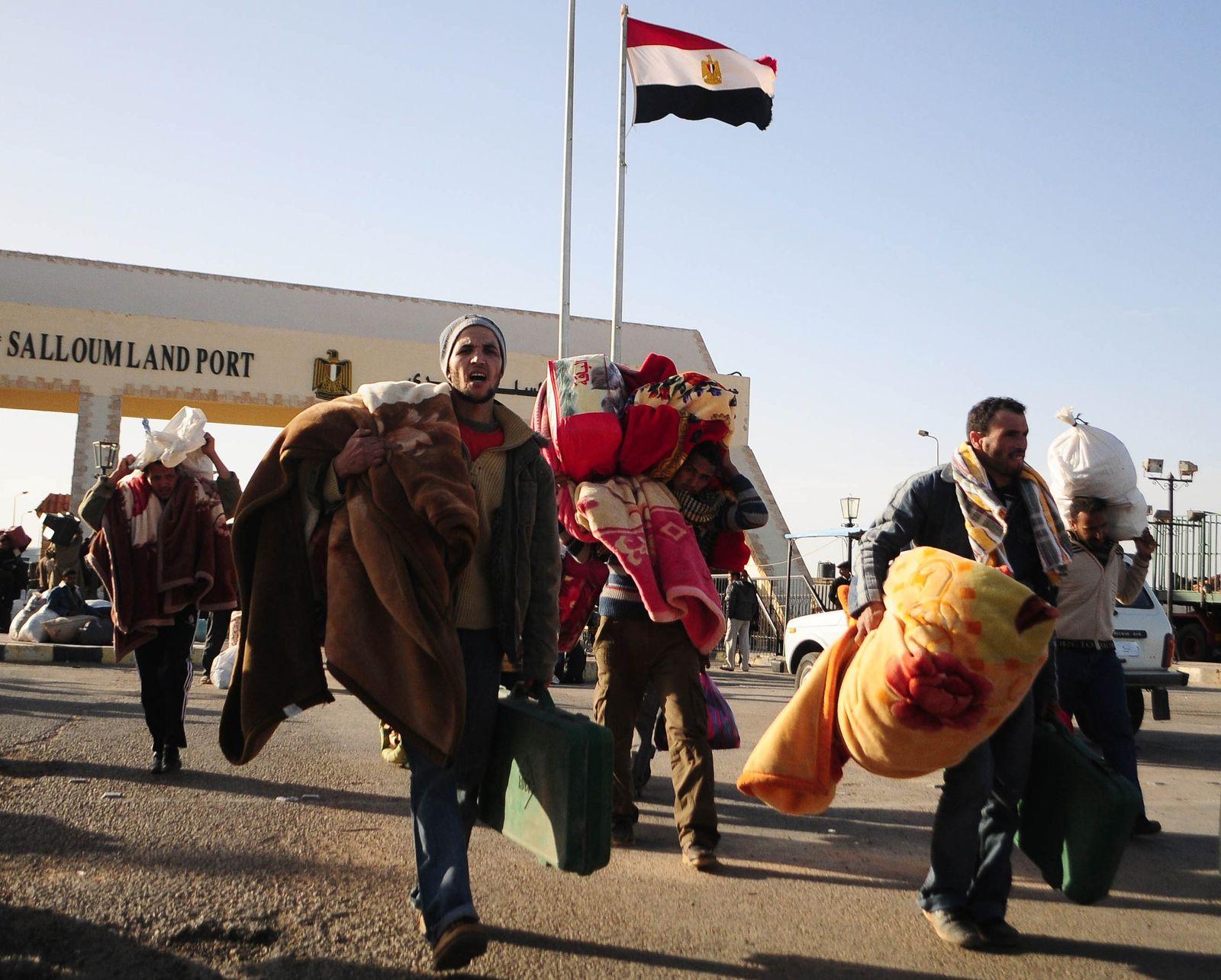 Libyen / Grenzübergang Ägypten (Sallum)