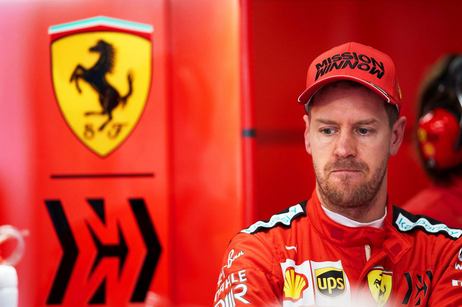 German Formula One driver Sebastian Vettel of Scuderia Ferrari to leave team Ferrari after 2020 season, Barcelona, Spain - 27 Feb 2020