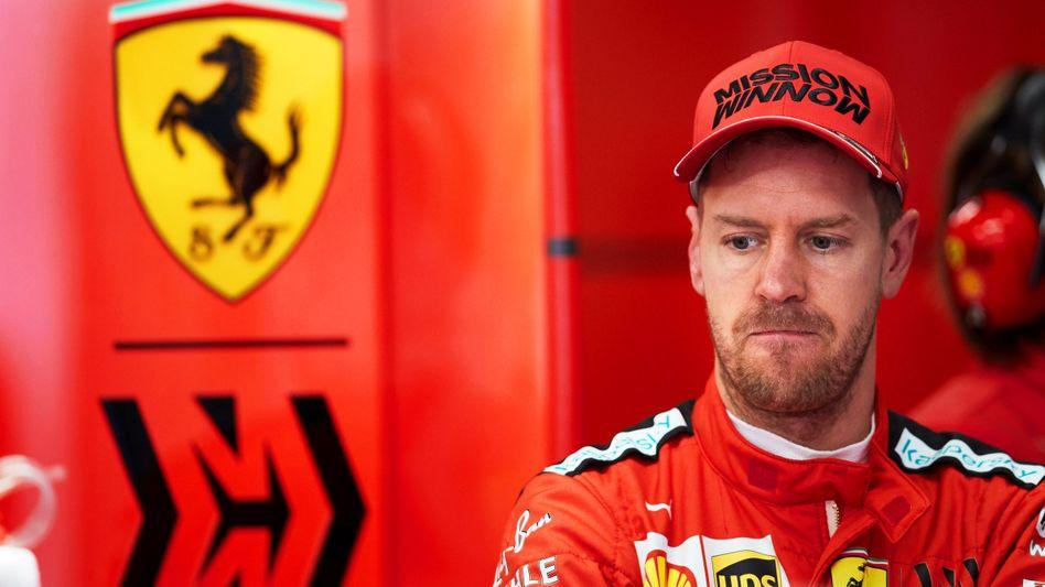 Noch-Ferrari-Pilot Sebastian Vettel: Bleibt er ein Unvollendeter?