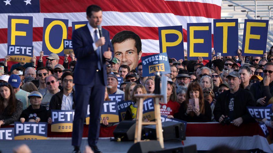 Pete Buttigieg: Platz drei oder doch Platz zwei in Nevada?