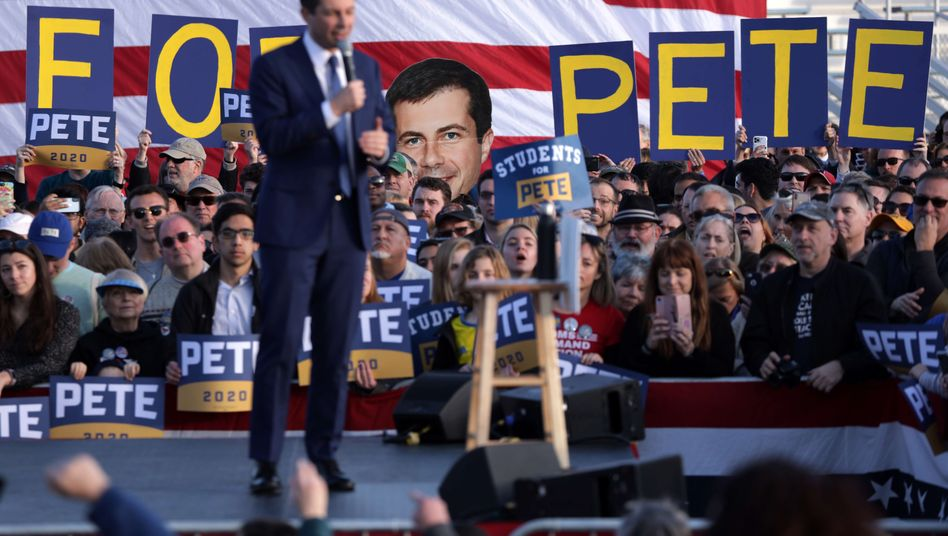 Platz drei bei Vorwahl: Drittplatzierter Buttigieg zweifelt Ergebnis von Nevada an