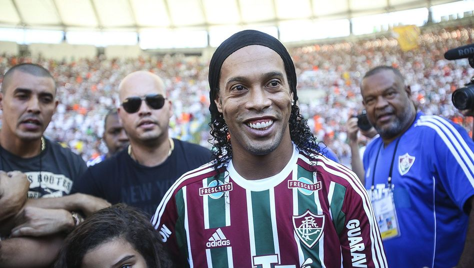 Ex-Superstar Ronaldinho: Auch er hat bei Fluminense einen neuen Coach