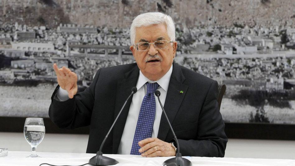 Palästinenser-Präsident Mahmud Abbas: Mitgefühl für Opfer und Hinterbliebene