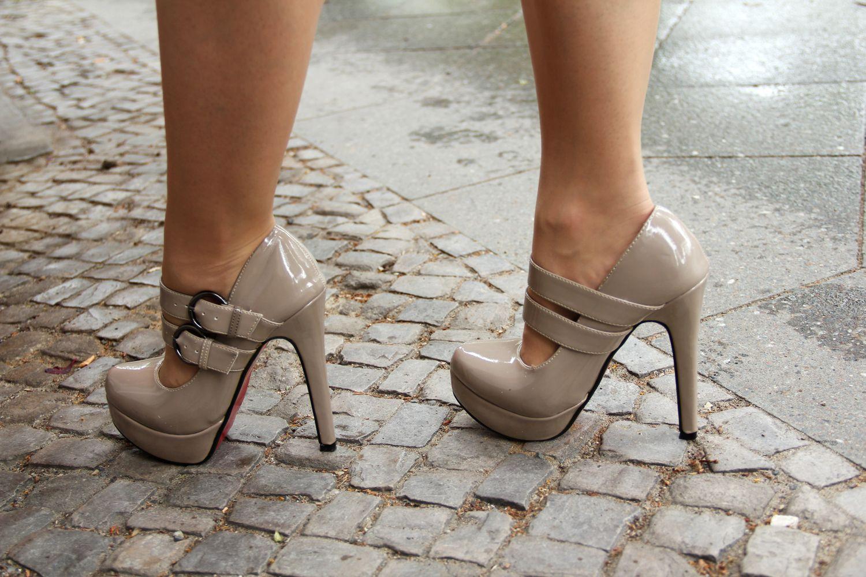 Permanent high heels tragen