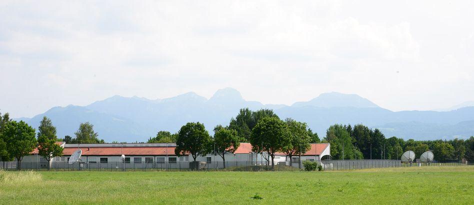 Mangfall-Kaserne bei Bad Aibling in Oberbayern: Zusammenarbeit mit der NSA